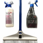 Leather and carpet cleaning package