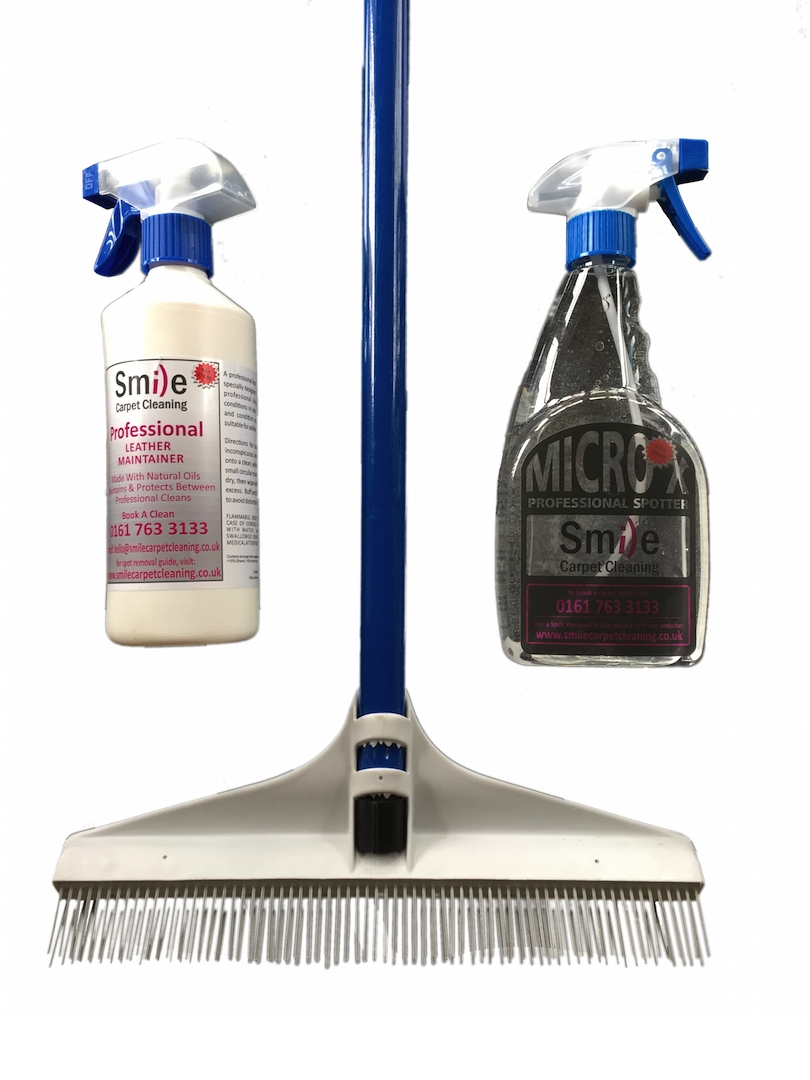 The Leather + Carpet Cleaning Package